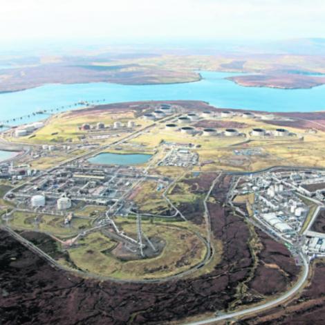 Oljan skapt vælferð og menning í Hetlandi
