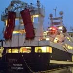 Høgaberg landað 1100 tons í Fuglafirði