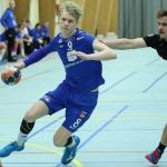 Neistin vann tíggju-máls sigur á seksfaldu steypavinnarunum í hálvfinaluni hjá Dreingir U18  (Mynd: Sverri Egholm/Savnsmynd)