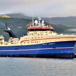 Nýggjasta skipið í grønlendska flotanum ávegis til Føroyar