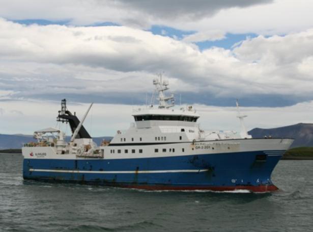 Fyrrverandi Skálaberg, sum varð bygdur til Klakvíkar í 2003, er seldur til Russlands