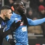 Apuljóð vórðu rópt eftir Napoli verjuleikaranum Kalidou Koulibaly undir dysti móti Inter