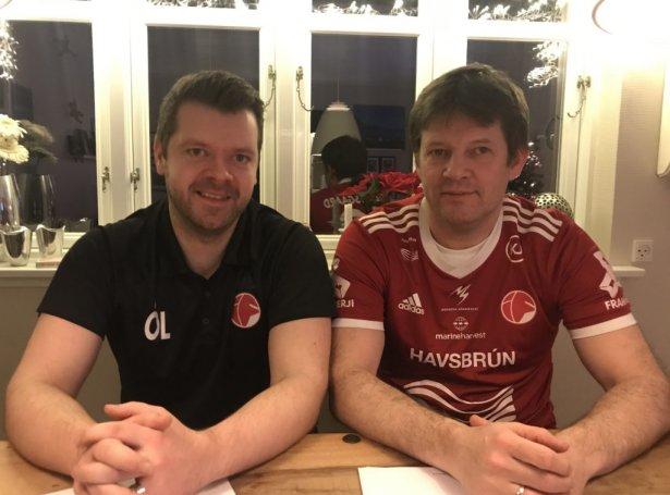 Ólavur Larsen (t.v.) og Jákup Mikkelsen (Mynd: if.fo)