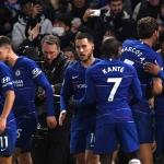 Willian tryggjaði Chelsea sigurin ímóti Newcastle (Mynd: EPA)