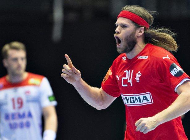 Mikkel Hansen (Mynd: EPA)
