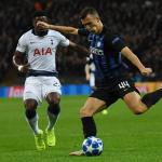 Ivan Perisic skiftir møguliga til Arsenal í dag. Her í dysti fyri Inter í London (Mynd: EPA)