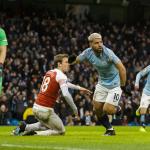 Aguero og City taka ímóti Arsenal í kvøld (Mynd: EPA)
