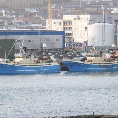 Jaspis og Ametyst hava landað í Havn