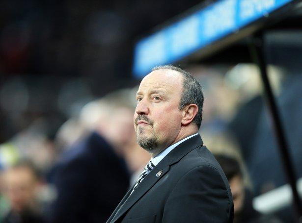 Rafa Benitez og Newcastle vunnu í kvøld á Burnley (Mynd: EPA)