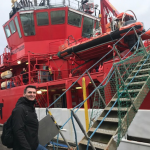 Bora við markið – til Føroya at skifta manning