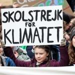 Greta Thunberg 18 ár í dag