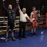 Teitur Jákupsson vann trygd í DM-finaluni (Mynd: Tórshavn Boxing)