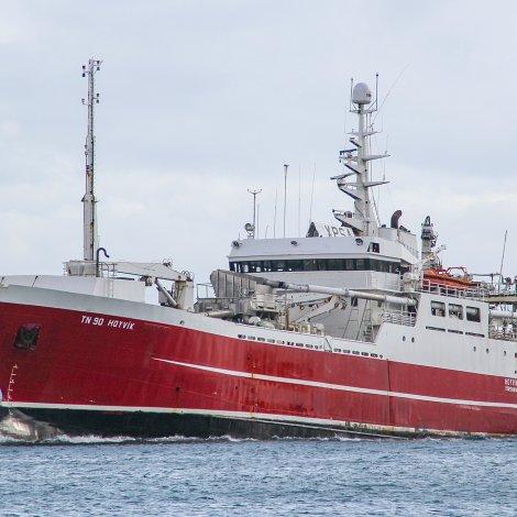 Hoyvík farin á makrelveiðu