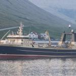 Polar Princess landað 580 tons av toski Kollafirði