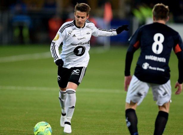Nýggi KÍ-leikarin í eldinum fyri Rosenborg (Mynd: Rosenborg BK)