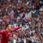 Ronaldo og Portugal eru í