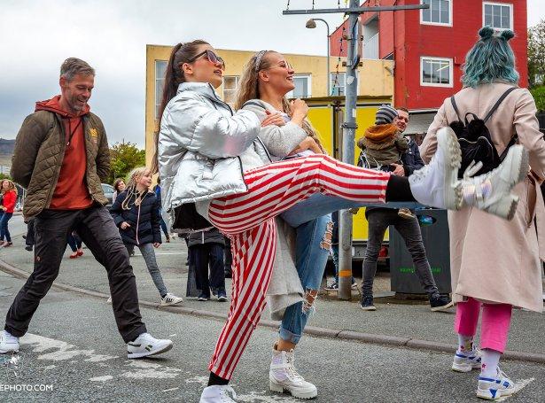 Silly Walk (Mynd: Ólavur Frederiksen / Faroephoto)
