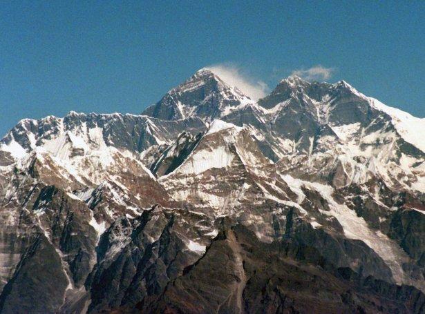 Mount Everest (Mynd: EPA)