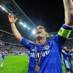 Frank Lampard var liðformaður í Champions League-finaluni í München í 2012, tá Chelsea lyfti stóra steypið - Mynd: EPA