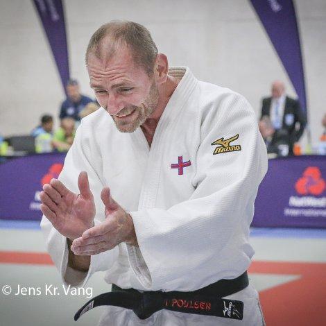 Búgvi Poulsen vann gull í judo (Mynd: Jens Kr. Vang)
