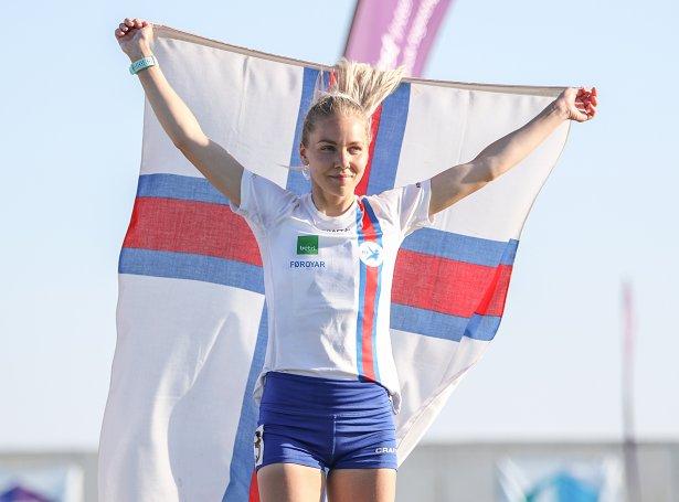 Rebekka Fuglø (Mynd: Sverri Egholm)