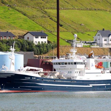 Fagraberg hevur landað svartkjaft í Fuglafirði