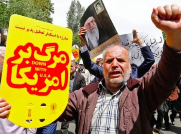 Stórur spenningur er millum USA og Iran (Mynd: AFP)