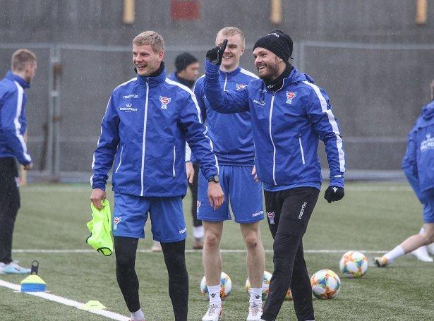 Ári Mohr Jónsson, Andrias Eriksen og Rógvi Baldvinsson (Mynd: Sverri Egholm)