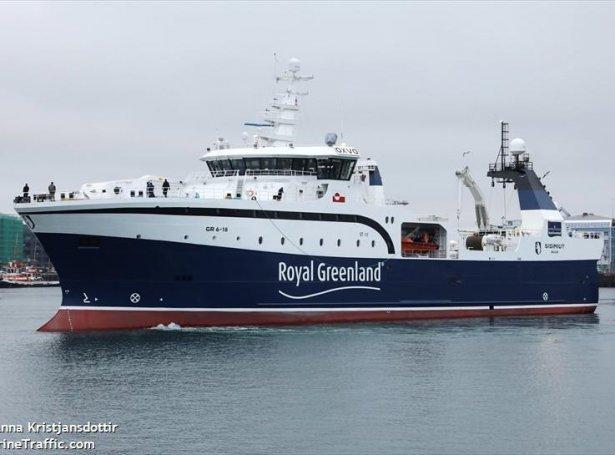 Sisimut - Mynd: Marinetraffic - Anna Kristiansdóttir