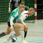 Karina Berg Høgnesen hjá StÍF skoraði eins og Haruka 11 mál í sjey-máls sigrinum í Klaksvík í kvøld (Savnsmynd: Sverri Egholm)
