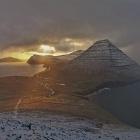 Myndir: Villingardalsfjall og Enniberg í skiftandi veðri