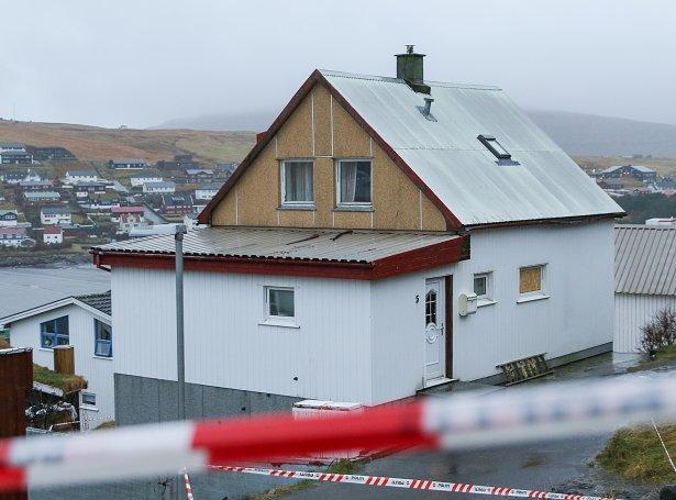 Tað var her, at skottilburðurin hendi tann 9. desember 2019 (Mynd: Sverri Egholm)