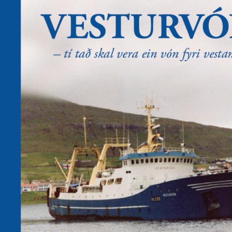 Bókin um Vesturvón er komin í bókabúðirnar