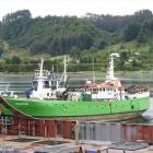 Skipasøga: Boðanes fyrsta skipið bygt á Skála skipasmiðju