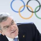 Thomas Bach, forseti í Altjóða Olympisku Nevndini, IOC (Mynd: EPA)