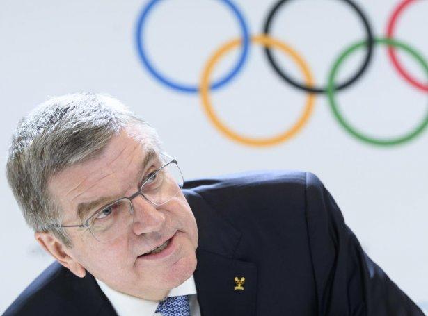 Thomas Bach, stjóri í IOC (Mynd: EPA)