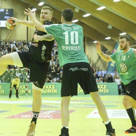 H71 og Kyndil, ið hittust í steypafinaluni í februar, skulu dystast í bólki 1 hjá monnum (Mynd: Jens Kr. Vang)