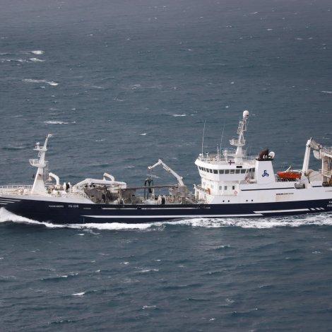 Fleiri skip landa svartkjaft í Danmark