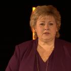 Erna Solberg: Mugu halda fram við at menna norska olju- og gassvinnu