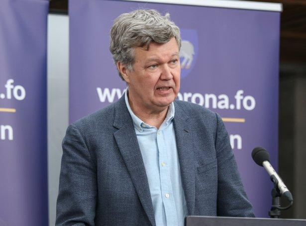 Lars Fodgaard Møller, landslækni (Mynd: Sverri Egholm)