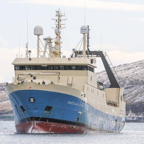 Hanus Hansen eigur nú í Arctic Viking