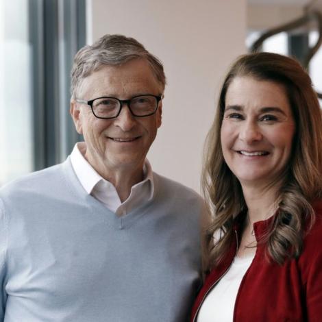 Nú eru Bill og Melinda Gates skild