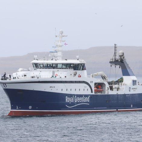 Sisimiut landar í Kollafirði