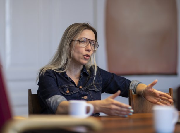 Maria Skaalup Petersen hevur gjørt kanningina saman við Pál Weihe (Savnsmynd: Finnur Justinussen)