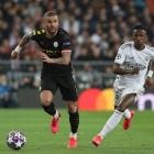 City vann á Real Madrid í fyrru áttandapartsfinaluni - avgerðin um hvør kemur víðari fellur tíðliga í august (Mynd: EPA)