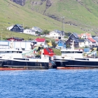 Stjørnan og Polarhav landaðu í Klaksvík í gjár