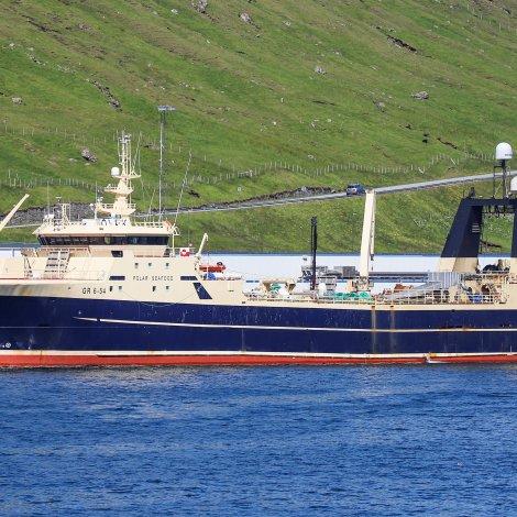 Polar Princess skal landa 950 tons av makreli