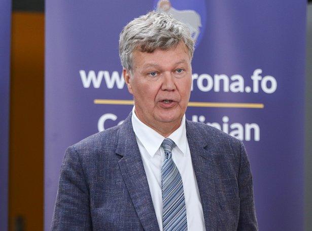 Lars Fodgaard Møller, landslækni (Savnsmynd: Sverri Egholm)