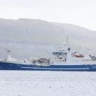 Katrin Jóhanna riggar til makrelfiskiskapin
