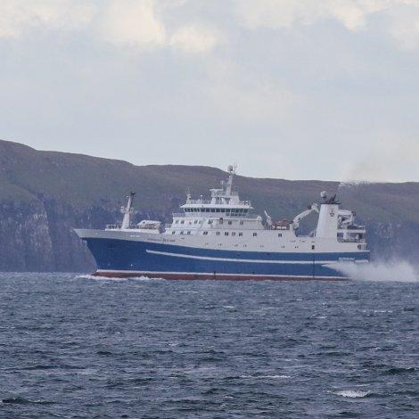 Norðborg farin á lodnuveiðu